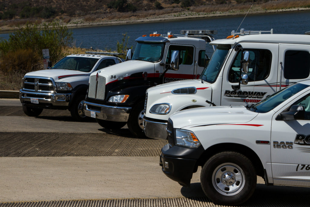 types of towing services.